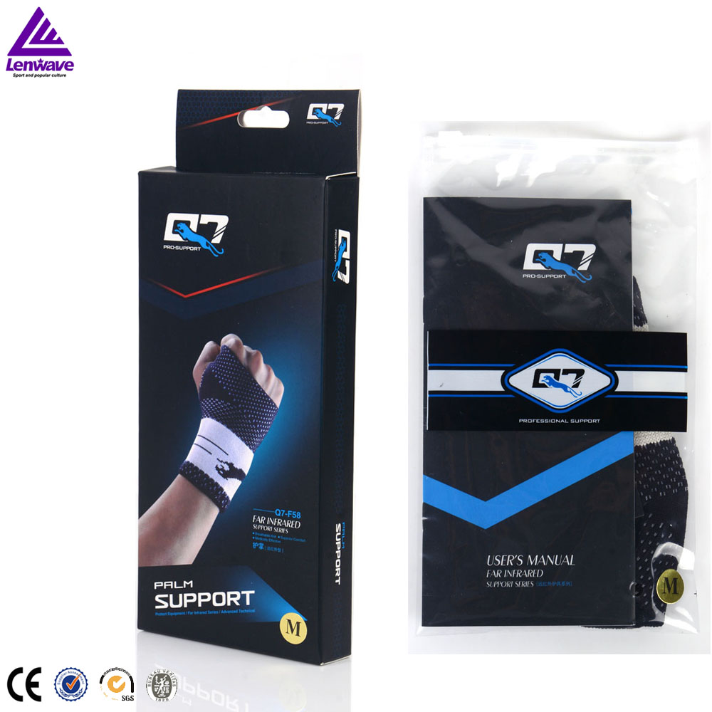 wholesale America Q7 Muscle ligament protection palm support Far-infrared Tourmaline hand palm pads wraps