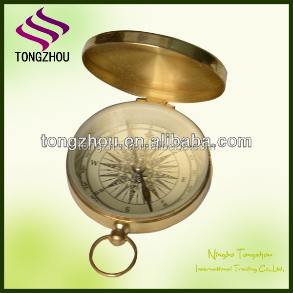 wholesale brass compass,pocket compass,nice compass for promotion