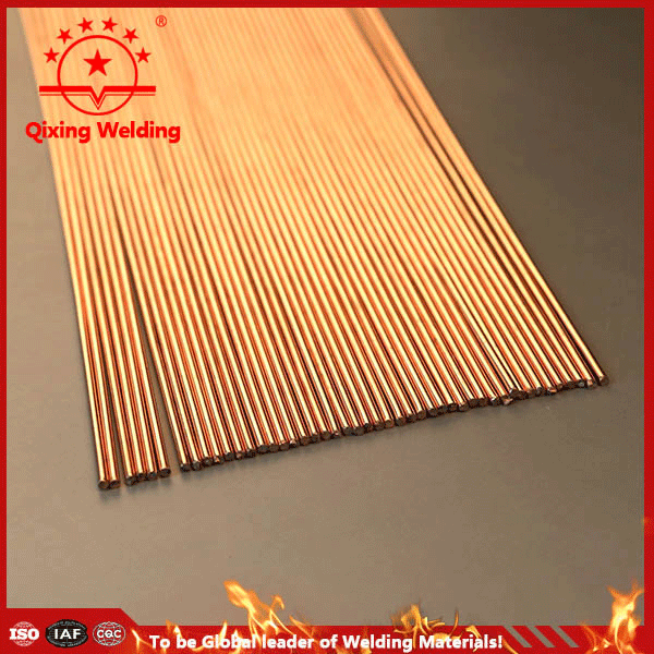 Manufacture supply 5%,10%,15% Ag welding rod/brass scrap rod/copper wire for sale