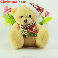 2014 newest stuffed christmas gift bear plush toy
