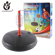 children sport playing cheap foot ball with exercise equipment toy