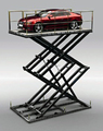 CE ISO hydraulic scissor lift car