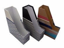Paper file holder for office organization and magazine holder