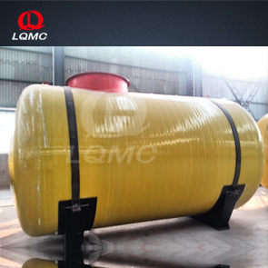Large volume FRP and stee oil and gas tank for gas station