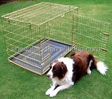 Wire mesh Pet crate dog cages