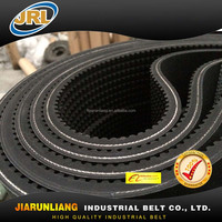 turly endless rubber timing belt for high speed pulley
