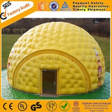 New design sewing inflatable igloo dome tent F4073