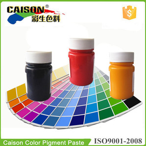 Guide for how to get Pantone color with Caison pigment paste(16-3815--16-5119)