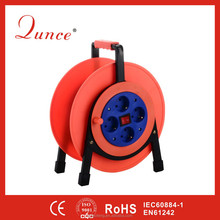 25M 2*1.5 Plastic Cable Reels QC6230 CE Certificated