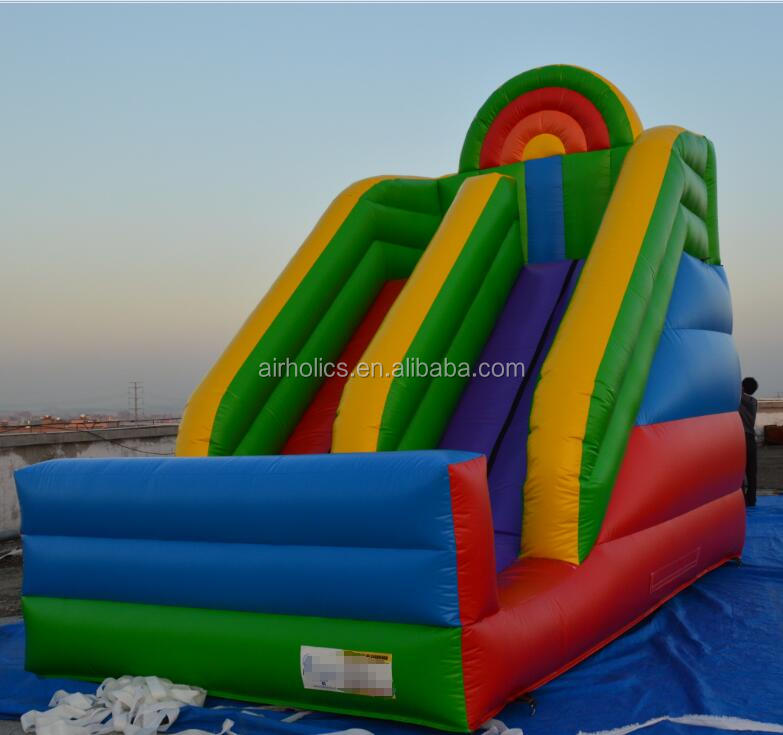 A4021 new style inflatable colorful water slide,giant inflatable slide for sale