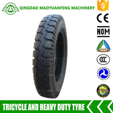 top quality heavy duty motorcycle tyres 4.00-12 with inner tube for three wheeler made in china