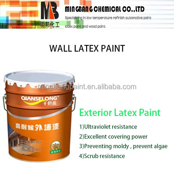 Oil based external wall paint