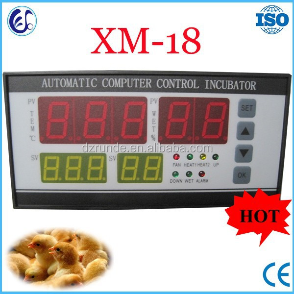 XM-18 Automatic digital incubator controller for sale