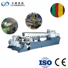 PVC UPVC profile two stage plastic recycling whole extrusion machine line