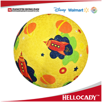2017 HP004 kids promotional rubber playground ball