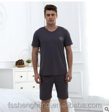 Black swan brand sleep wear customized men's t pajamas