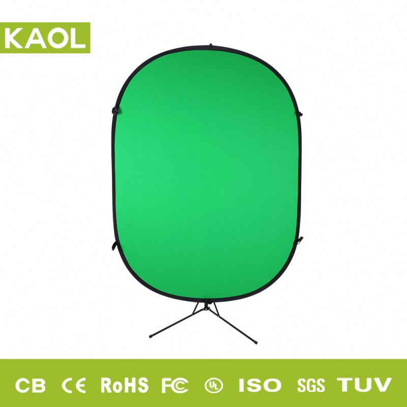 Professional collapsible twist outdoor backdrop screen