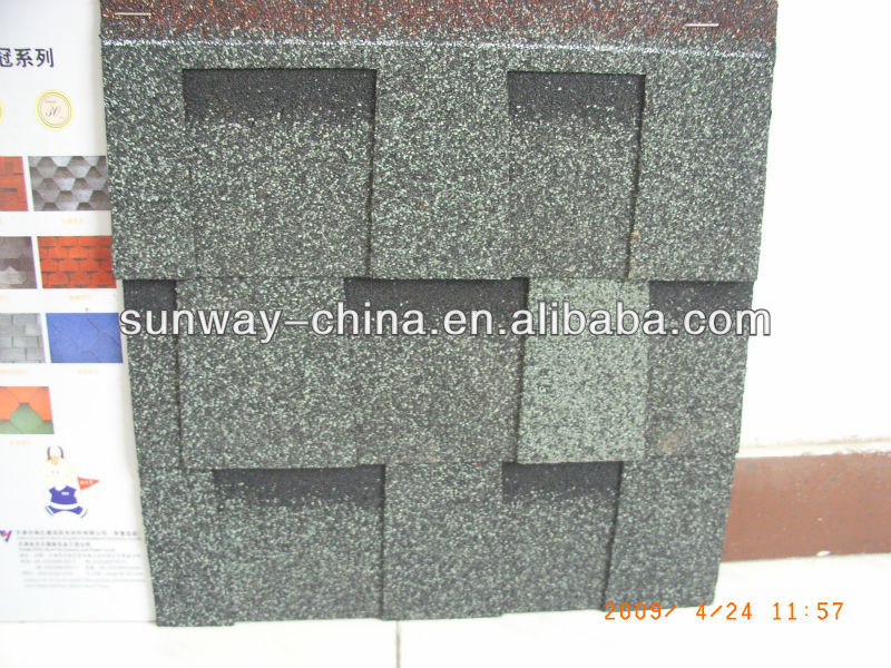Colorful Laminated asphalt shingle(roofing tile)