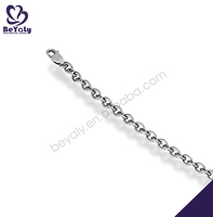 Christmas gift 316L stainless steel footprints bracelet