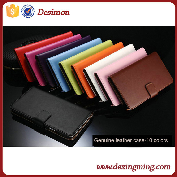 PU leather flip stand leather case for iphone6,for iphone leather cover