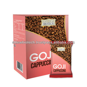 Goji Cappuccino - OEM/ Private label