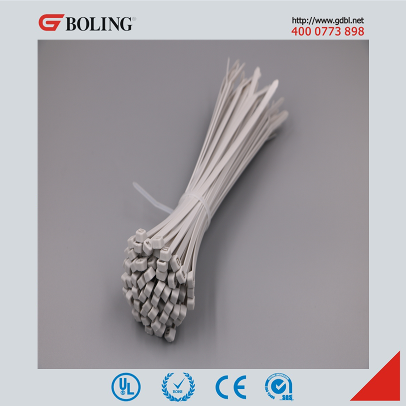 Grey Color Self-locking Nylon Cable Ties