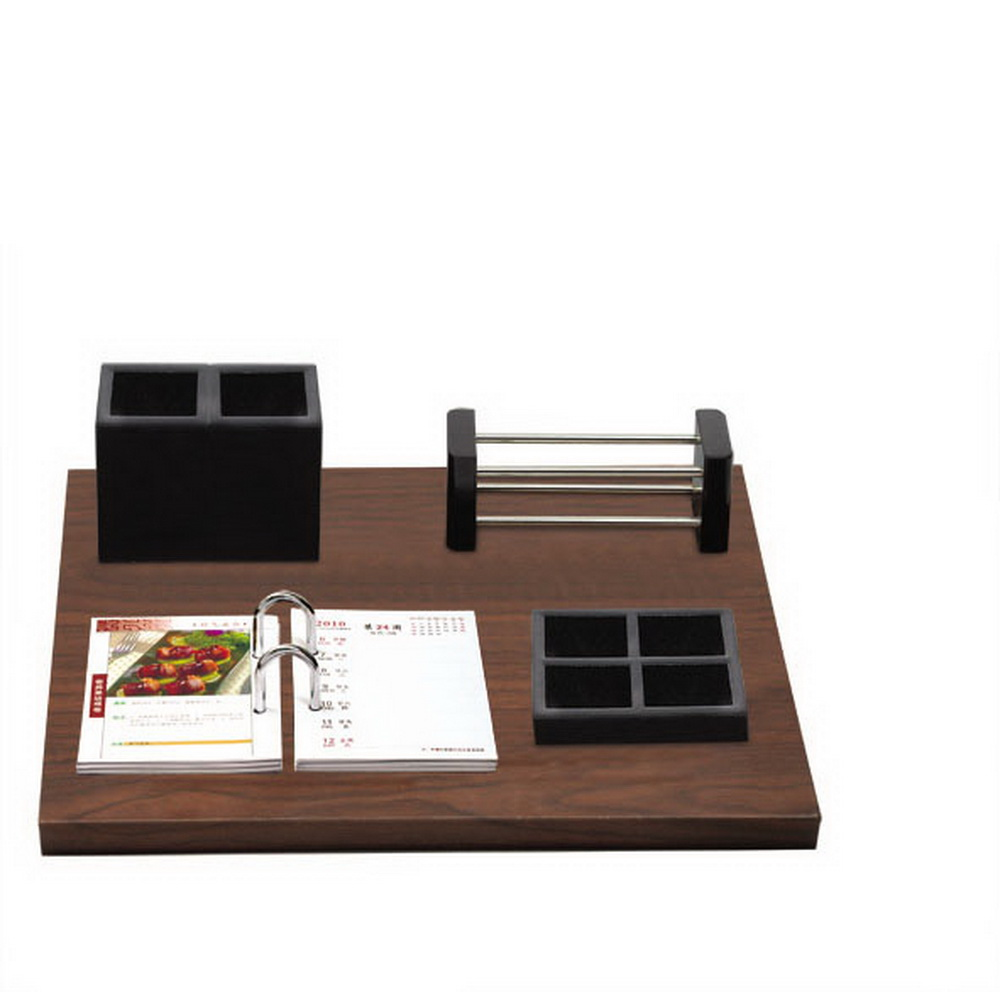 all types black business wooden desk Calendar for corporate gift