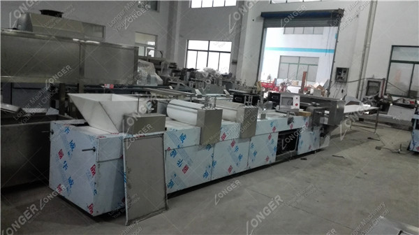 PLC Control Peanut Candy Bar Forming and Cutting Machine