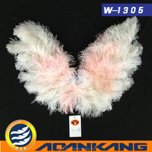 beautiful ostrich feather angel wing for dancing party--China supplier w-1305