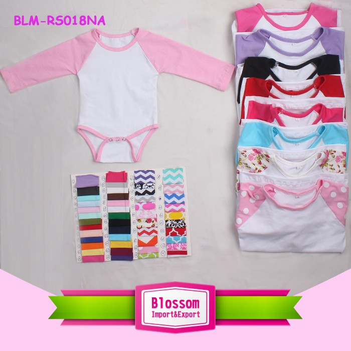 USA apparel new style wholesale baby clothes chevron romper infant bubble boutique children kids smocked halter bubble romper