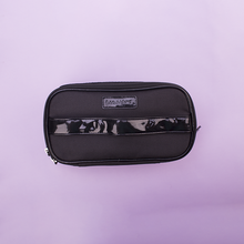 Wholesale mini travel makeup bag with tote handle, custom small makeup train case