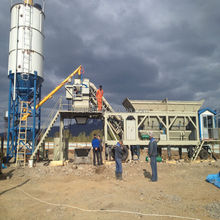 Mobile Concrete mixing batcher Plant with CE,GOST,ISO certificates
