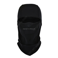Spandex Polyester Windproof Balaclava Full Face Black Ski Mask for Motorcycle Racing or Skiing Racing or Military