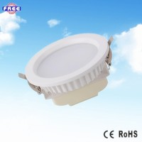 2015 New product function for indoor lampe shade aluminium LED down light housing