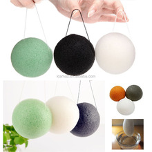 japanese 100% natural konjac facial sponge For all people