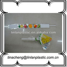 high quality disposable candy bar packaging/opp flat packaging candy bag
