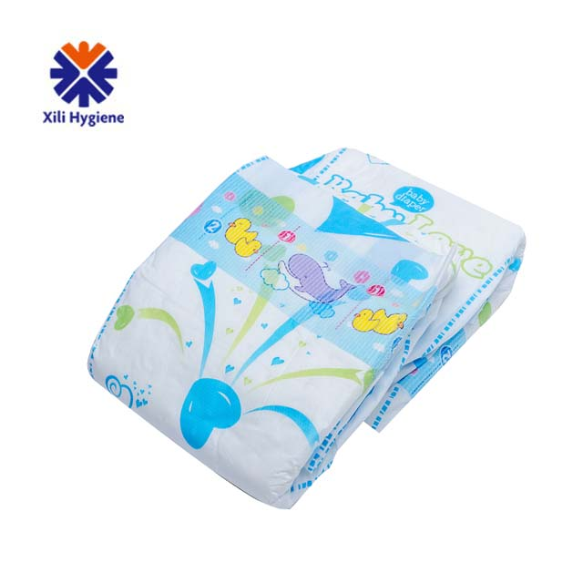 disposable soft newborn bebe diaper factory price