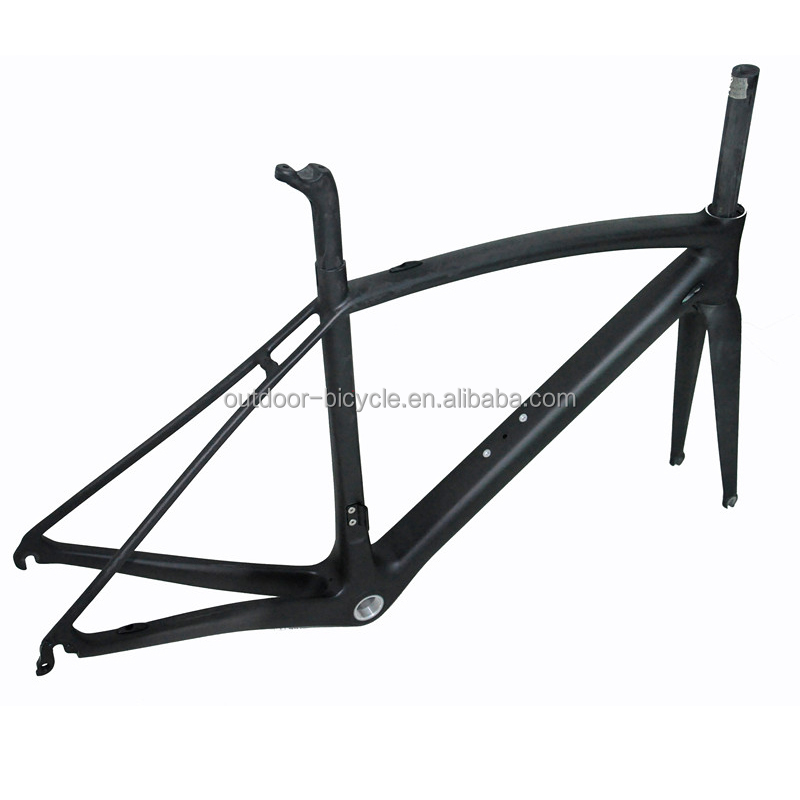 Newest best selling T800 Toray carbon fiber bicycle road bike frame FM208