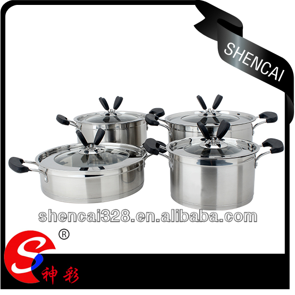 2014 New Product Stainless Steel Cookware as Seen on TV