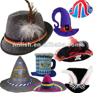 MH-0901 Party halloween Oktoberfest german bavarian felt hat