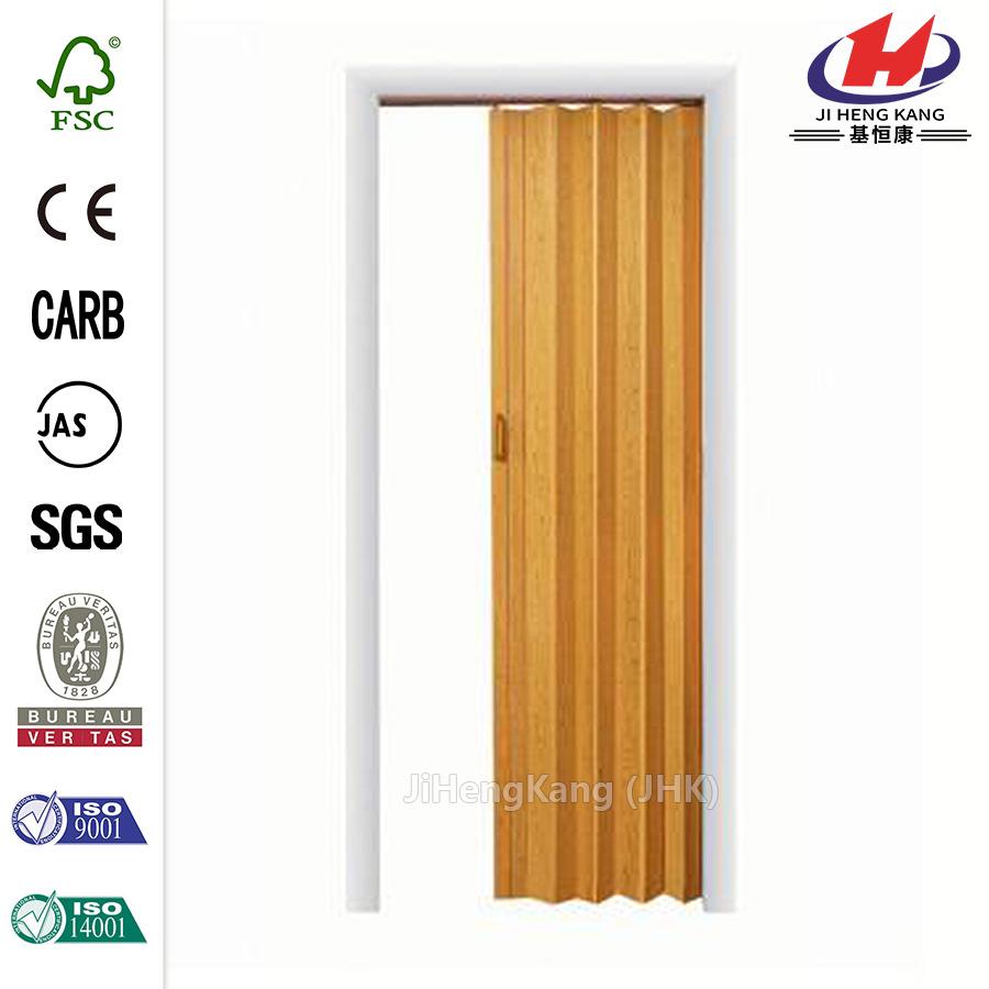 Jhk F01 Pvc Soundproof Accordion Bamboo Folding Interior Door Buy