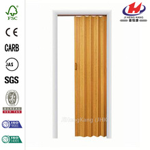 JHK-F01 PVC Soundproof Accordion Bamboo Folding Interior Door