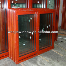 wholesale aluminum framed double glazed sliding window