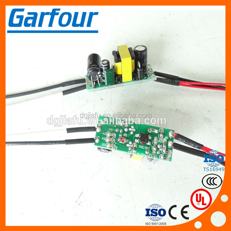 Electronic charge PCB with wire harness / power cable
