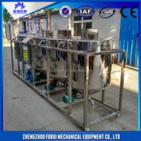 oil refining machine/sunflower oil refining machine/soybean oil refining machine
