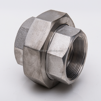 Forged SS316/304 female NPT thread 3M pipe fittings union