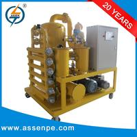 Dependable performance transformer oil recycling equipment