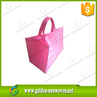 pp non woven grocery bag/Non-woven 4 bottle wine bags/spunbonded Nonwoven Shopping Bag