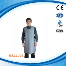 Light weight medical Lead x ray coat apron and lead vest MSLLJ03D
