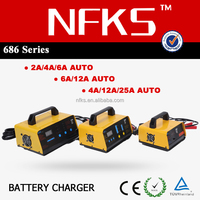 Intelligent Solar Car Battery Charger 220V 110V 12V